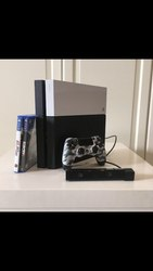 PlayStation 4 + 4 Game